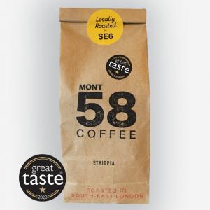 Mont58 Ethiopian coffee