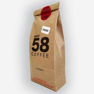 Mont58 Organic Guatemalan coffee