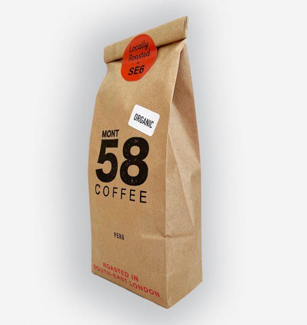 Mont58 Organic Peruvian Coffee