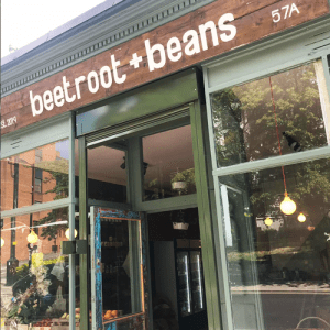 beetroot & beans