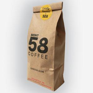 Mont58 Espresso coffee