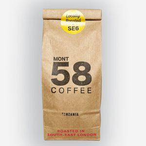 Mont58 Tanzanian coffee